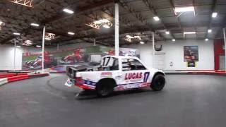 OffRoad Truck Rips Up GoKart Track