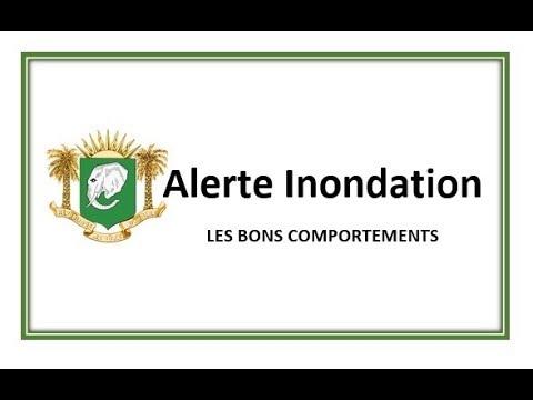 ALERTE INONDATION - LES BONS COMPORTEMENTS
