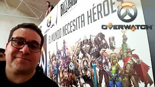 DAILY RIC #20 | MADRID - OVERWATCH NO EVENTO BLIZZARD