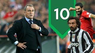 Fatih Terim'in tartıştığı 10 futbolcu | Futbolun Hikayeleri | #Liste