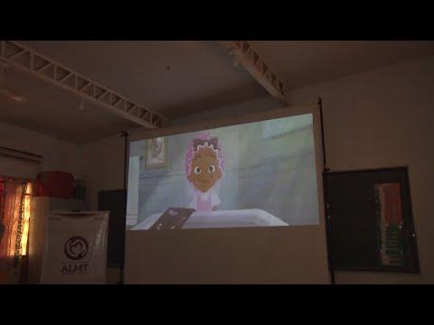 Assembleia Social promove sessão de cinema para crianças da comunidade Mata Cavalo