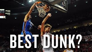 Russell Westbrook vs JamesEnnis: Who dunked it best? thumbnail