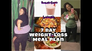 Lose 10 Pounds in 7 days   Weight Loss Meal Plan