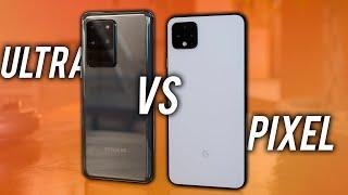 Samsung Galaxy S20 Ultra VS Google Pixel 4 XL: UNFAIR?!