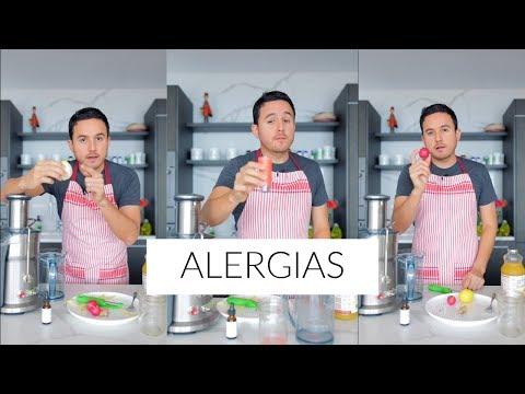 Cómo Preparar Un Jugo Natural Para Combatir Las Alergias