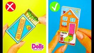 SIMPLE MATCHBOX CRAFTS IDEAS DIY HANDMADE TOYS FOR KIDS MEDICAL KIT