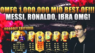 FIFA 16 PACK OPENING DEUTSCH  FIFA 16 ULTIMATE TEAM  OMFG 1MIO BEST OF MESSI RONALDO IBRA