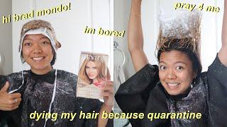 Bleaching My Hair With A Highlighting Cap