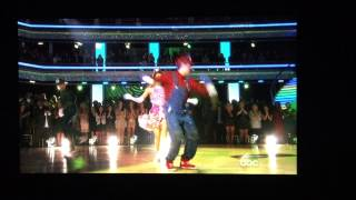 Sadie and Mark Freestyle Dance DWTS