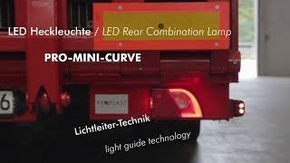 LED Heckleuchte PRO-MINI-CURVE