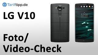 LG V10: Foto- und Video-Funktionen