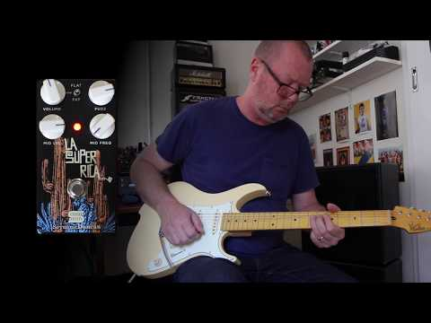 Seymour Duncan: LA SUPER RICA Jam demo - no talking
