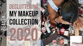 DECLUTTERING MY MAKEUP COLLECTION 2020 | Huge Makeup Clear Out | MAKEUP DECLUTTER | Ysis Lorenna
