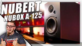 Nubert nuBox A-125 - Wenn 2 Lautsprecher eine Anlage ersetzen - Test