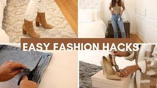 Easy Fashion Hacks 2019