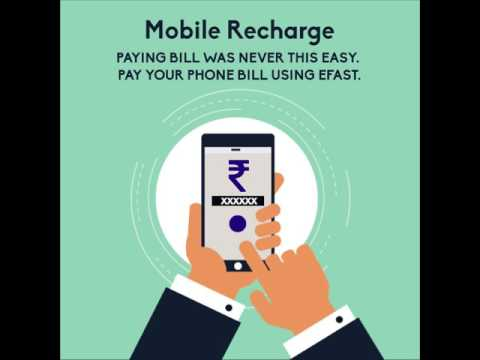 Mobile Recharge With Efast