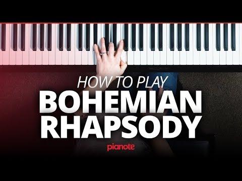 Bohemian Rhapsody Piano Tutorial (Queen)