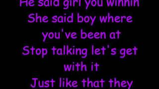 Ashley Tisdale-He Said She Said (lyrics)