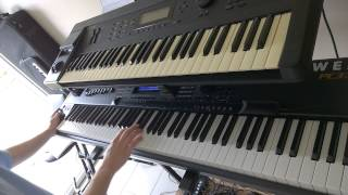 Dream Theater - The Root Of All Evil - Keyboard solo Training