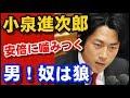 【安倍政権!打倒】小泉進次郎、安倍晋三総理に刃向った男!口撃の小皇帝