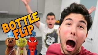 BOTTLE FLIP CHALLENGE | WILLYREX Y sTaXx