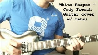 White Reaper   Judy French (Guitar Cover W Tabs)