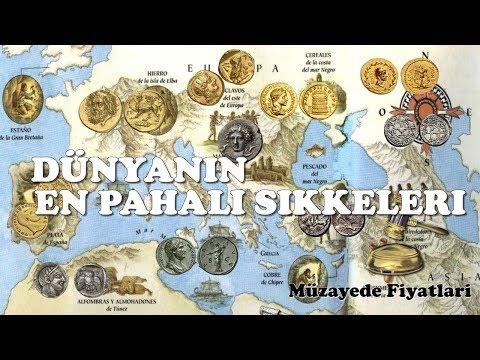 Dünyanın En Değerli Tarihi Sikkeleri, Defineleri, Paraları Money, Coin, お金, 錢,