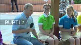 Russia: Artek winery visit prompts Putin joke
