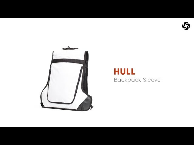 "Hull Laptoprugzak 15.6"" video 2"
