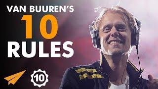 """Find Your Own IDENTITY!"" - Armin van Buuren (@arminvanbuuren) - Top 10 Rules"