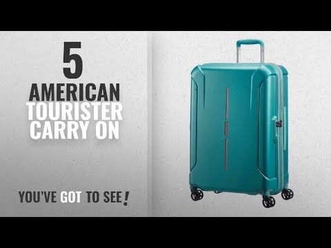 Top 10 Carry On American Tourister [2018]: American Tourister Technum Spinner Hardside 20, Jade