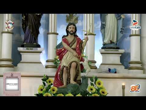 6ª noite de novena da festa de São João Batista 2021 em Apodi