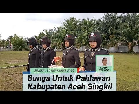 Pemkab Aceh Singkil Gelar Tabur Bunga di Makam Pahlawan