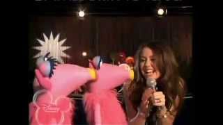 Miley Cyrus singing with the Muppets - G.N.O [Girls Night Out].