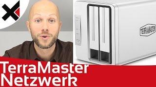 TerraMaster F2-220 Netzwerkdienste einrichten Tutorial Deutsch | iDomiX