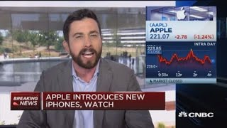 Apple introduces new iPhones, watch