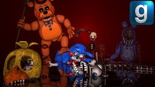 Gmod FNAF | New FNAF 2 Unwithered Pill Pack! - hmong video