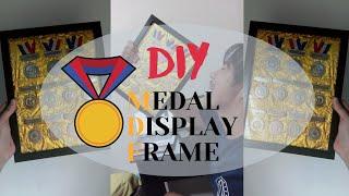 DIY Medal Display Frame I Emer Parahas I Vlog #4