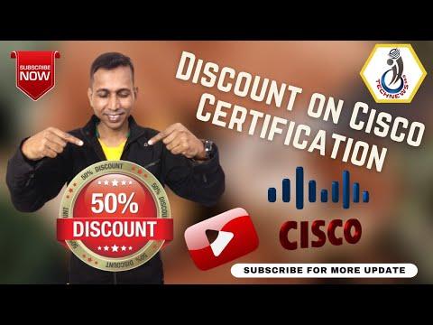 50% Discount on Cisco Certification | Cisco Exam ... - YouTube