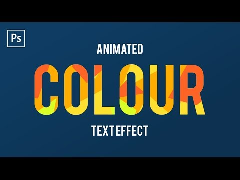 How To Animate Text In Adobe Photoshop CC ✍ (Frame Animation)