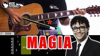 Cómo Tocar Magia De Andres Cepeda, Sebastian Yatra En Guitarra | Tutorial + PDF GRATIS