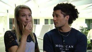 GTST-Alkan en Melissa vertellen over samenwerking na relatiebreuk - RTL BOULEVARD