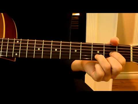 Basic Open Guitar Chords for Beginners by HowToGuitarIt.com