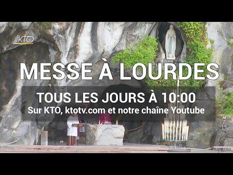 Messe de 10h à Lourdes du 29 mars 2020
