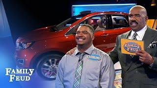 Car Stars: Noyola Family 🚗⭐️ | Family Feud - dooclip.me