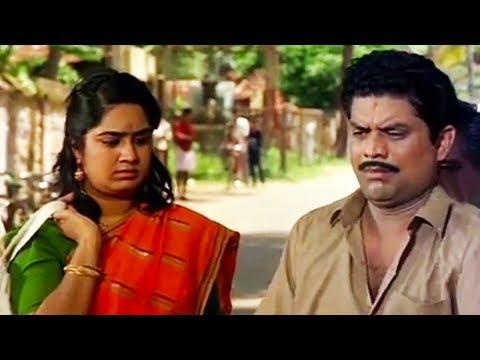 പ്രസവിക്കാത്ത മൊട്ടച്ചി..നിന്നെ ഞാൻ ഡിവോഴ്സ് ചെയ്യും..!! Jagathy | Kalpana | Malayalam Comedy Scenes