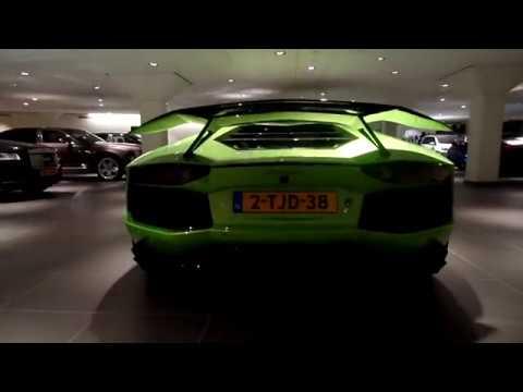 Lamborghini Aventador 12 Cilinder Viper Green exterieur