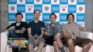 Hoobastank   Out Of Control  Crawling In The Dark  (Live @ Summer Sonic 09)