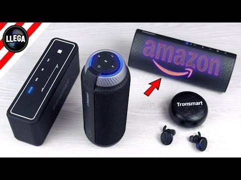 Probando los Nuevos Altavoces Bluetooth de Amazon | Tronsmart