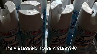 Lysol spray is back on the shelves at Kroger | It's a blessing to be a blessing